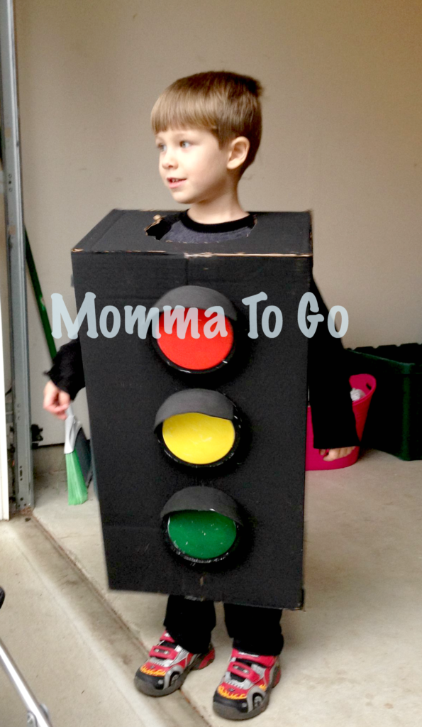 Traffic Light For Sale >> Traffic Light Halloween Costume - Momma To Go